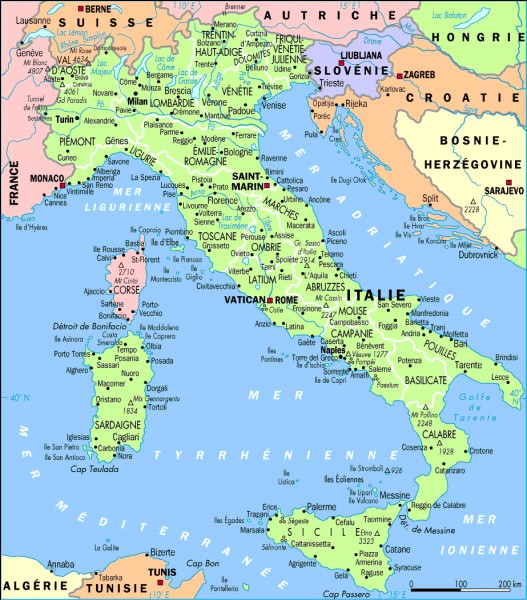L'Italie est réputée pour :