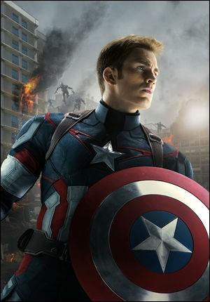 J'ai un bouclier, mes couleurs sont comme celles du drapeau américain et j'étais amoureux de l'agent Carter. Qui suis-je ?