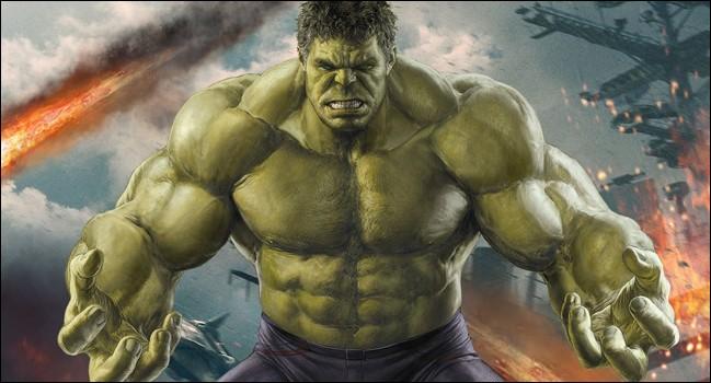 Je suis vert, je suis toujours énervé et je me nomme Bruce Banner. Qui suis-je ?