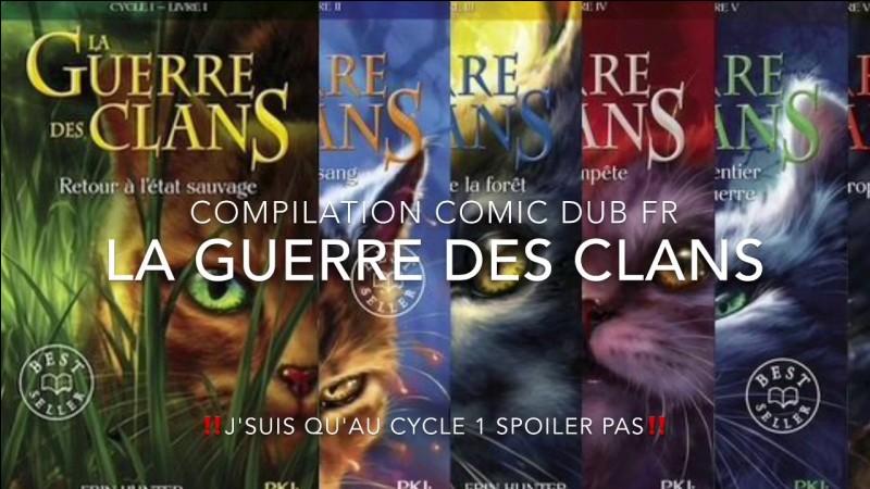 """Quel est l'auteur du best-seller """"La Guerre des clans"""" ?"""