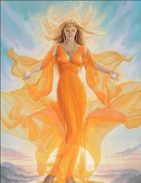 Divinité et symbole du foyer et du feu sacré. Qui est-elle ?