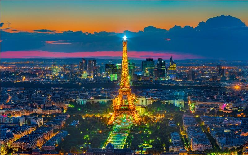 Paris est la capitale de...