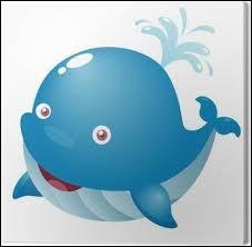 La baleine : on dit qu'elle... (1 réponse possible)