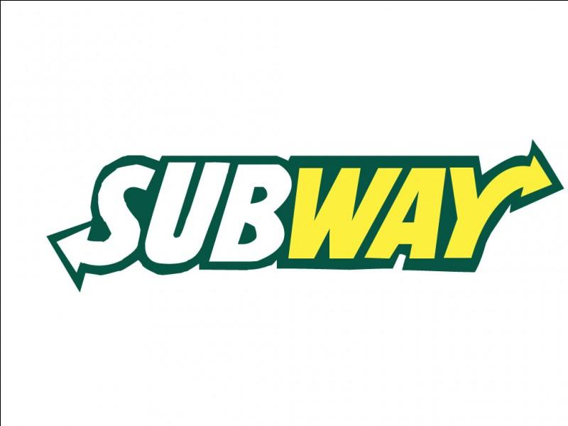 Un peu plus difficile, que peut-on manger chez Subway ?