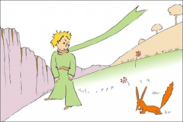 """Enfin, quelle est la célèbre phrase prononcée par le renard, dans """"Le Petit Prince"""" de Saint-Exupéry ?"""