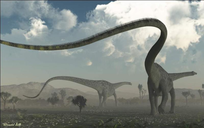 Quel est le plus long dinosaure ?