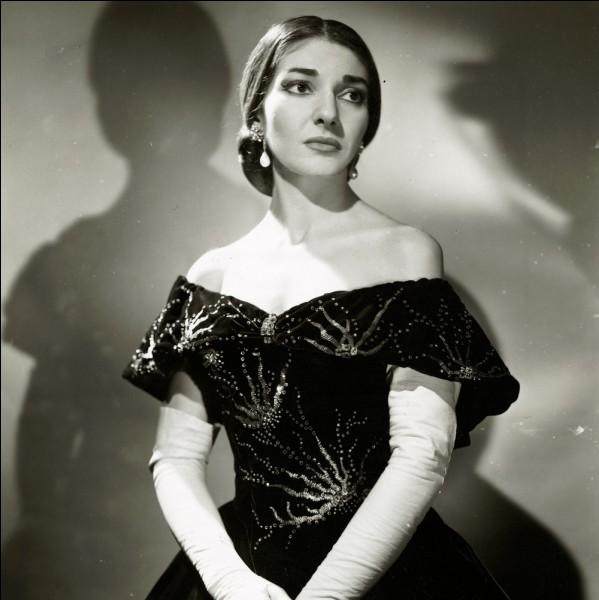 Qui était le partenaire favori de Maria Callas ?