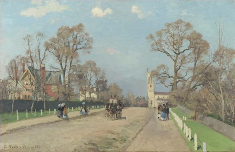 """""""L'avenue, Sydenham"""" 1871. De qui ? Parbleu !"""