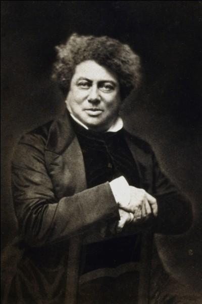Alexandre Dumas a vécu au XVIIIe siècle...