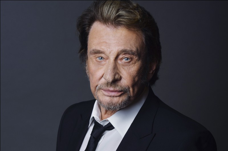 "Johnny Hallyday a chanté ""Oh Marie""..."