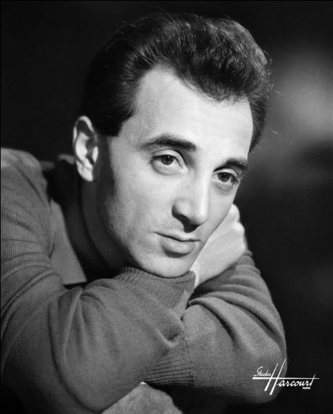 Quel est le vrai nom de Charles Aznavour ?