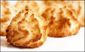 Le congolais est fabriqué à partir de noix de coco râpée.