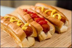 Le hot-dog est originaire des États-Unis.