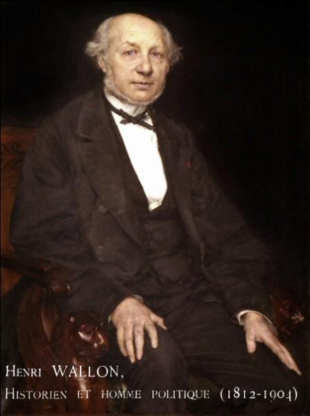 L'amendement Wallon, établi le 30 janvier 1875, a permis au président d'être élu :