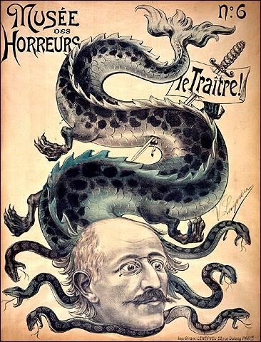 L'affaire Dreyfus atteint l'échelle nationale, non sans renforcer les tensions entre les divers acteurs de ce conflit idéologique. Sur quelles années s'étendit-elle ?