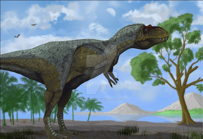 Où a-t-on retrouvé les fossiles du Lythronax ?