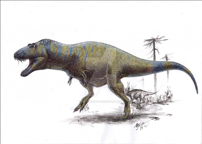 Parmi ces dinosaures, lequel est Lythronax ?