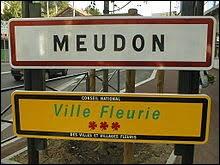 Les habitants de la ville de Meudon (Hauts-de-Seine) s'appellent ...