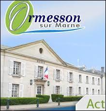 Comment appelle-t-on les habitants d'Ormesson-sur-Marne (Val-de-Marne) ?