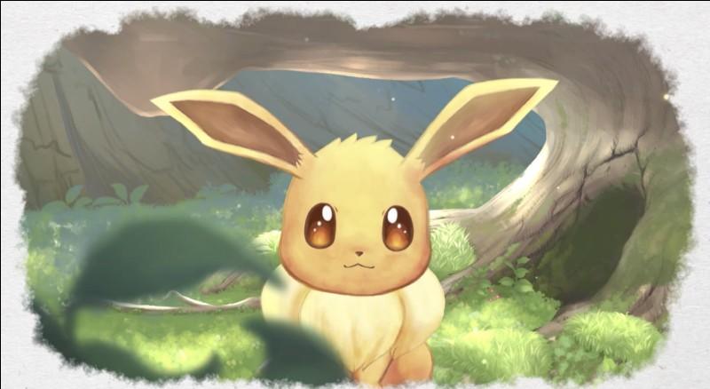 Évoli est dans la famille des Pokémon :