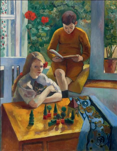 En 1910, un couple d'amateurs suisses, ... et ..., lui commande le portrait de leurs enfants et collectionne ses œuvres. (complétez)