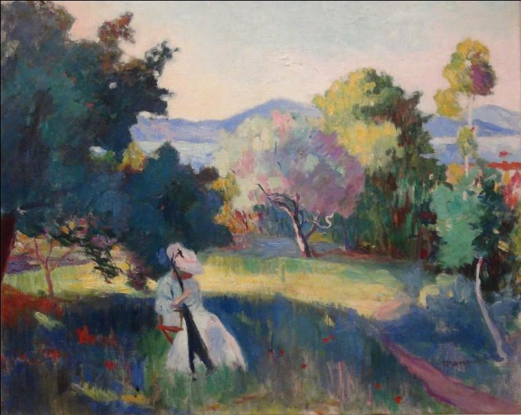 Ce sont surtout les paysages qui font de Manguin un excellent artiste. Quel précurseur ce chef-d'œuvre de 1905 peut-il évoquer ?