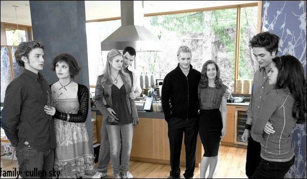 Que dit Rosalie quand Edward emmène Bella pour lui présenter sa famille dans le film ?