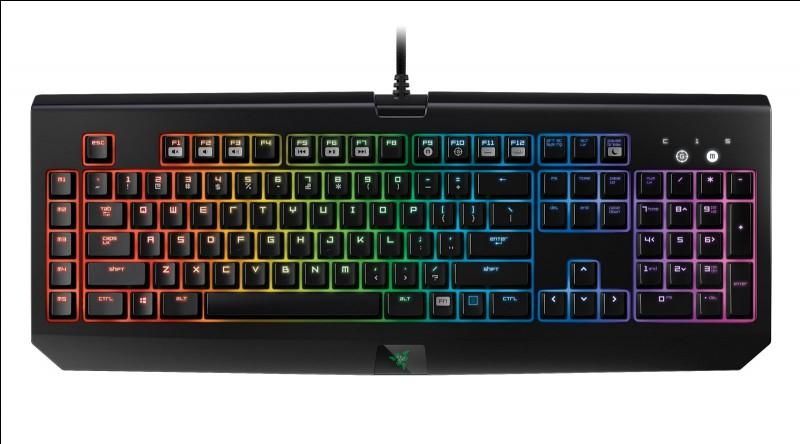 """Sur un clavier d'ordinateur """"AZERTY"""", toutes les voyelles sont sur la même ligne."""