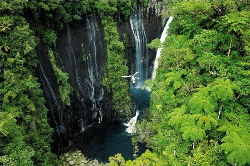 Le volcan de la Soufrière est situé sur l'île de la Réunion.