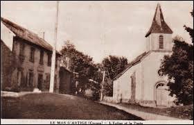 Le Mas-d'Artige est une commune Creusoise située en région ...
