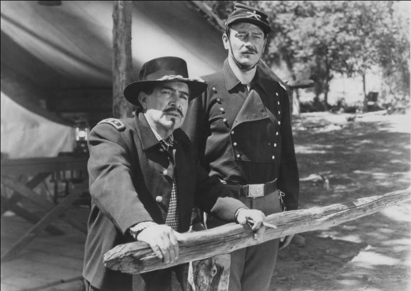 """Qui est ce général aux côtés de John Wayne dans """"Rio Grande"""" en 1950 ?"""