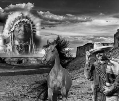Le western en noir et blanc