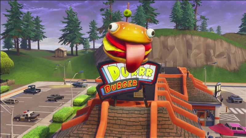 Où se trouve le restaurant Burger ?
