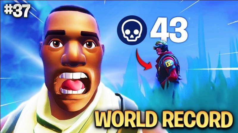 En quel mode a été réalisé le record de 43 kills ?
