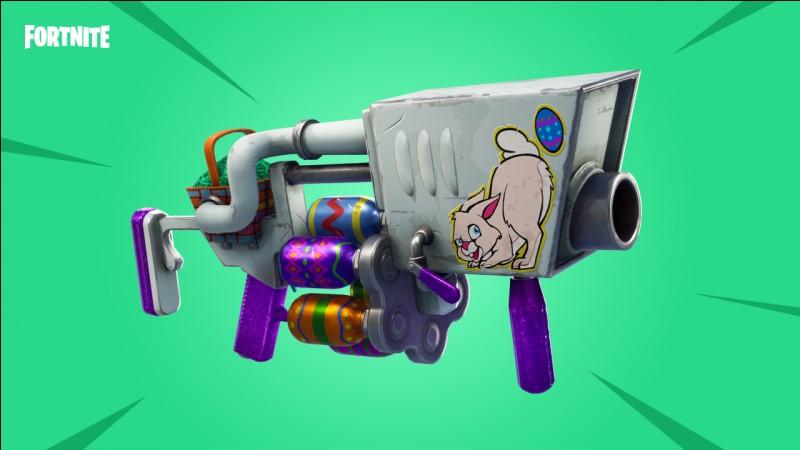 Quels sont les dégâts du lance-grenades légendaire ?