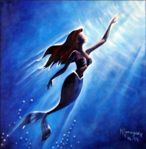 Avec quoi se brosse Ariel ?