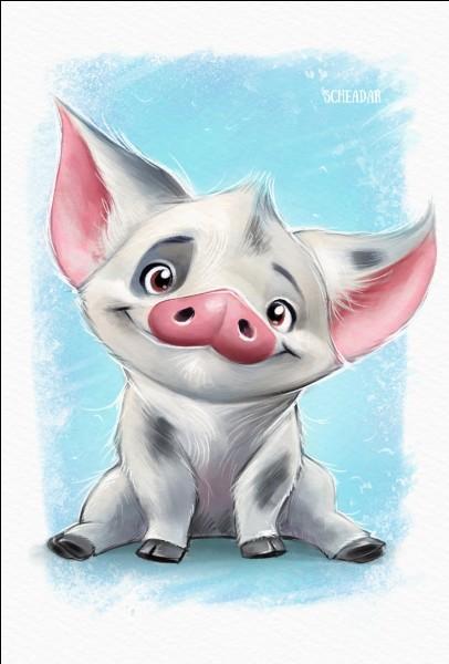 Comment s'appelle le cochon de Vaiana ?