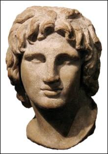 Élève d'Aristote, il devint roi de Macédoine en 356 avant J.-C. à l'âge de 20 ans. Il créa, suite à ses incessantes conquêtes militaires, l'un des plus grands empires sur lequel l'homme ait régné.Il fonda plusieurs villes portant son nom, la plus célèbre étant Alexandrie, sur la Méditerranée, en Égypte :