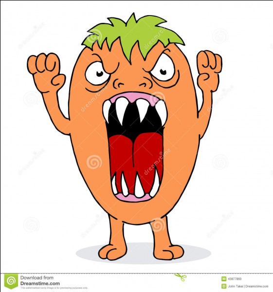 Comment réagis-tu quand quelqu'un t'énerve ?