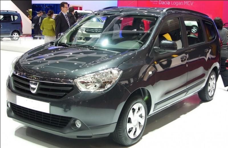 Quel est le nom de cette Dacia moche ?