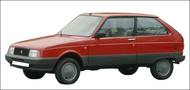 Quel est le nom de cette Citroën moche ?
