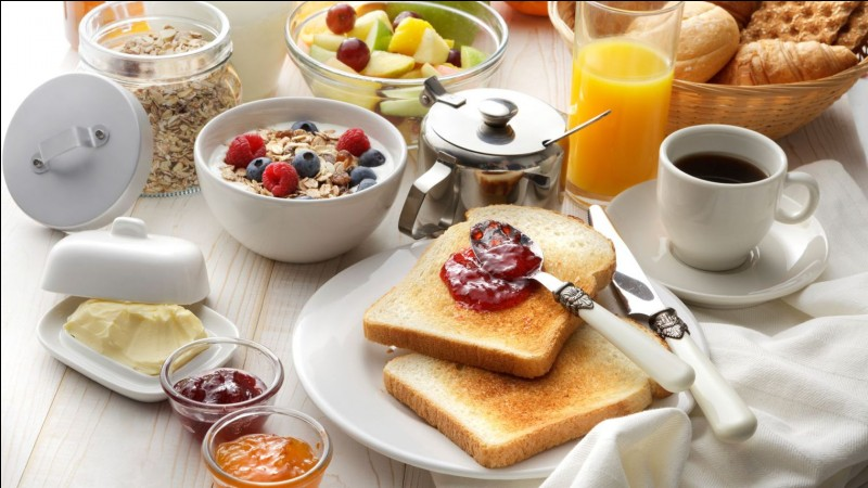 Que manges-tu le matin ?