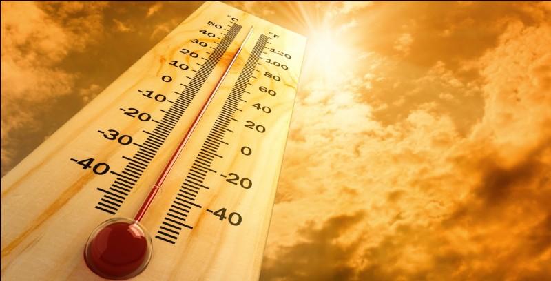 Sur quelle planète fait-il le plus chaud (en moyenne) ?