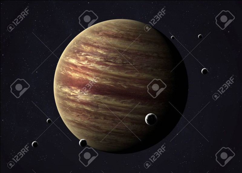 Combien de lunes orbitent autour de Jupiter ?