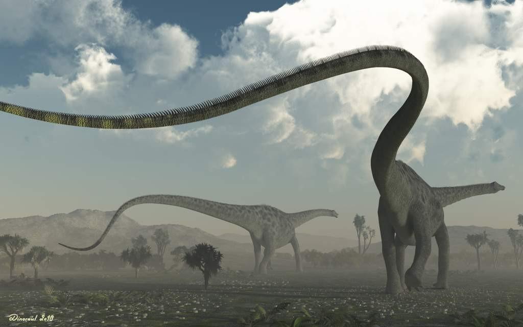 La famille des sauropodes
