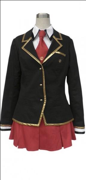 À quel anime appartient cet uniforme scolaire ?