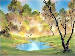 La fumée en est parfois la matière mais dans l'eau, si pierre est jetée, il se dessinera. Il est...