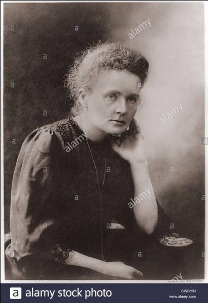 1911 : quel second prix Nobel reçoit-elle pour la découverte du radium et du polonium ?