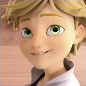 Observe bien ce jeune homme.De quelle couleur sont ses yeux ?