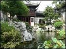 Le jardin Yu est en plein centre de